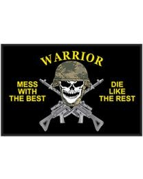 Eagle Emblems Warrier Mess with the Best Patch