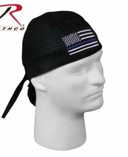 Thin Blue Line Flag Headwrap
