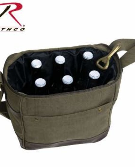 Canvas Insulated Cooler Bag