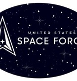 Mitchell Proffitt United States Space Force Oval Magnet