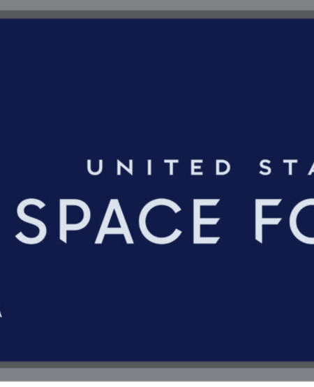 Space Force Licnese Plate