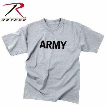 Rothco Kids Army Physical Training Shirt