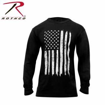 Rothco US Flag Long Sleeve T-Shirt