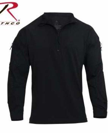 1/4 Zip Tactical Airsoft Combat Shirt