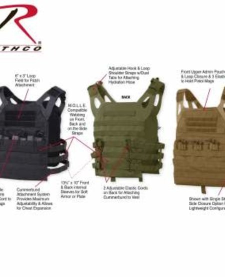 Lightweight Armor Plate Carrier Vest