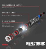 NEBO Inspector 360 Lumen Rechargeable Flashlight