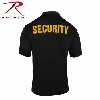 Rothco Moisture Wicking Security Polo Shirt