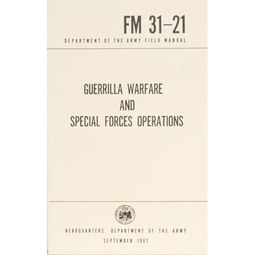 Military Guerilla Warfare and Special Forces Operations Manuel