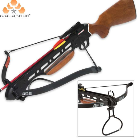 Crossbow Wooden Stock 150 LB Crossbow