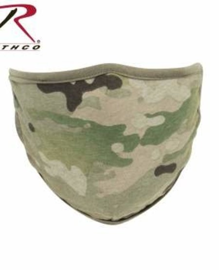 Reversible Reusable 3-Layer Face Mask - Multicam/Coyote