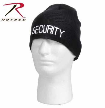 Rothco Embroidered Security Skull Cap