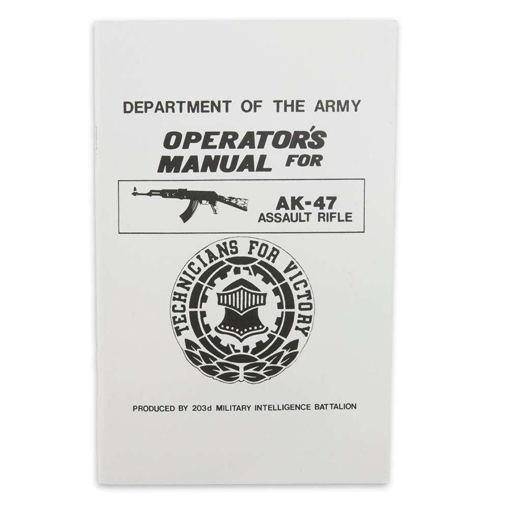 Military Operator's Manual for AK-47