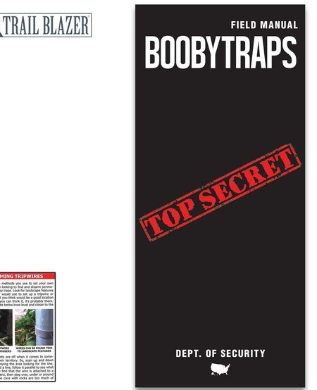 Booby Traps Field Manual - Compact Folding Guide