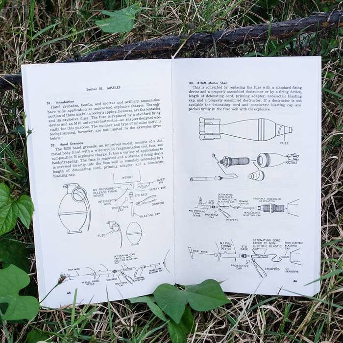 Military Booby Traps Field Manual