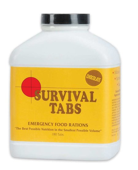 Chocolate Flavored Survial Tabs