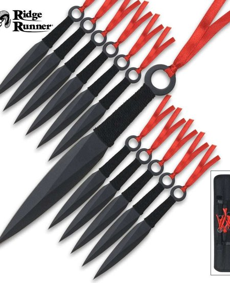 12 Piece Throwing Knife Set