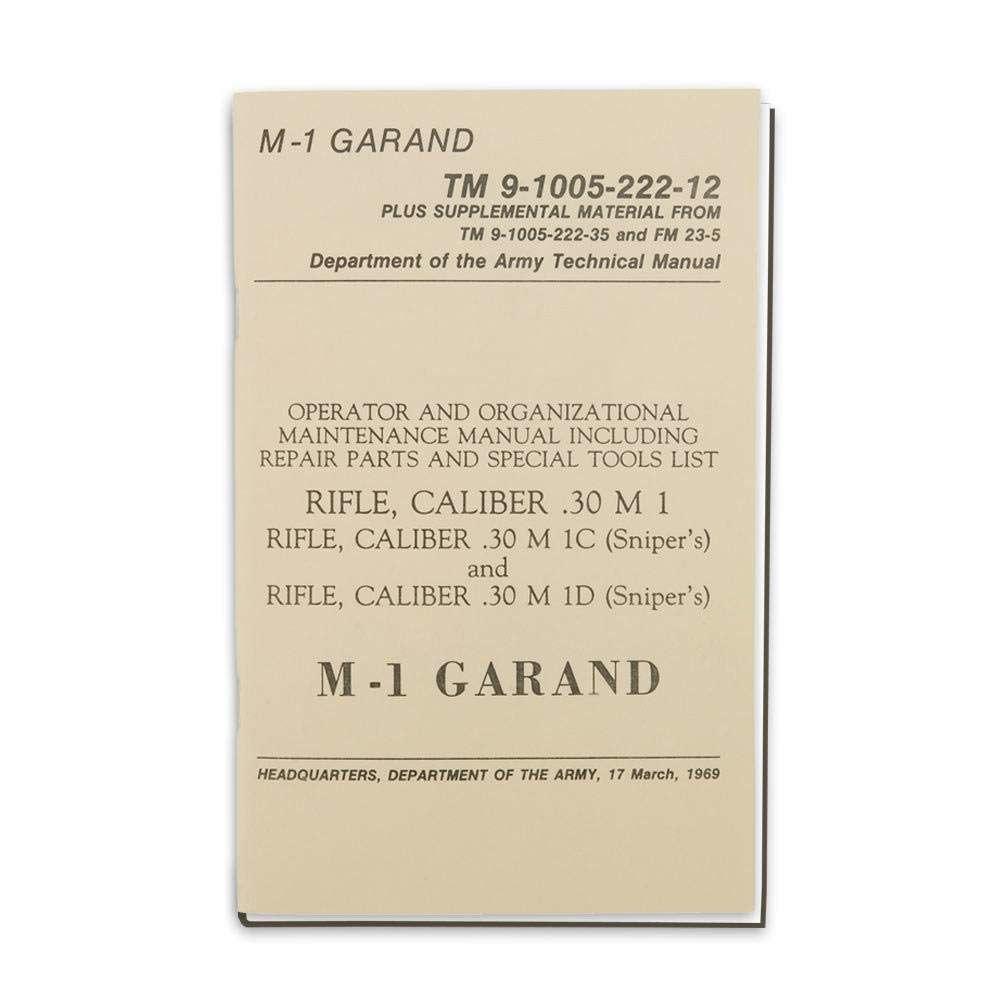 Military M1 Garand Manual