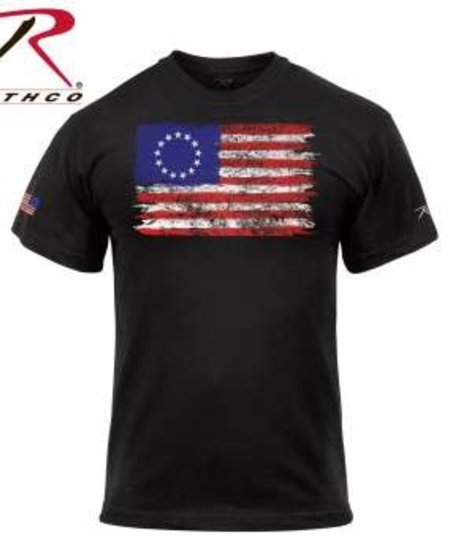 Colonial Betsy Ross Flag T-Shirt