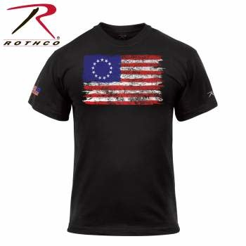 Rothco Colonial Betsy Ross Flag T-Shirt