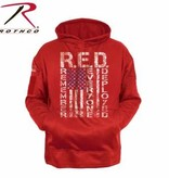 Rothco R.E.D. (Remember Everyone Deployed) Concealed Carry Hoodie