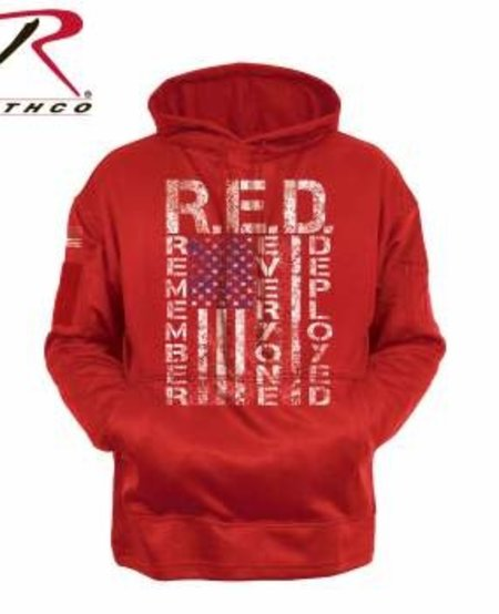 R.E.D. (Remember Everyone Deployed) Concealed Carry Hoodie