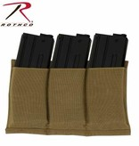 Rothco Lightweight 3 Mag Elastic Retention Pouch