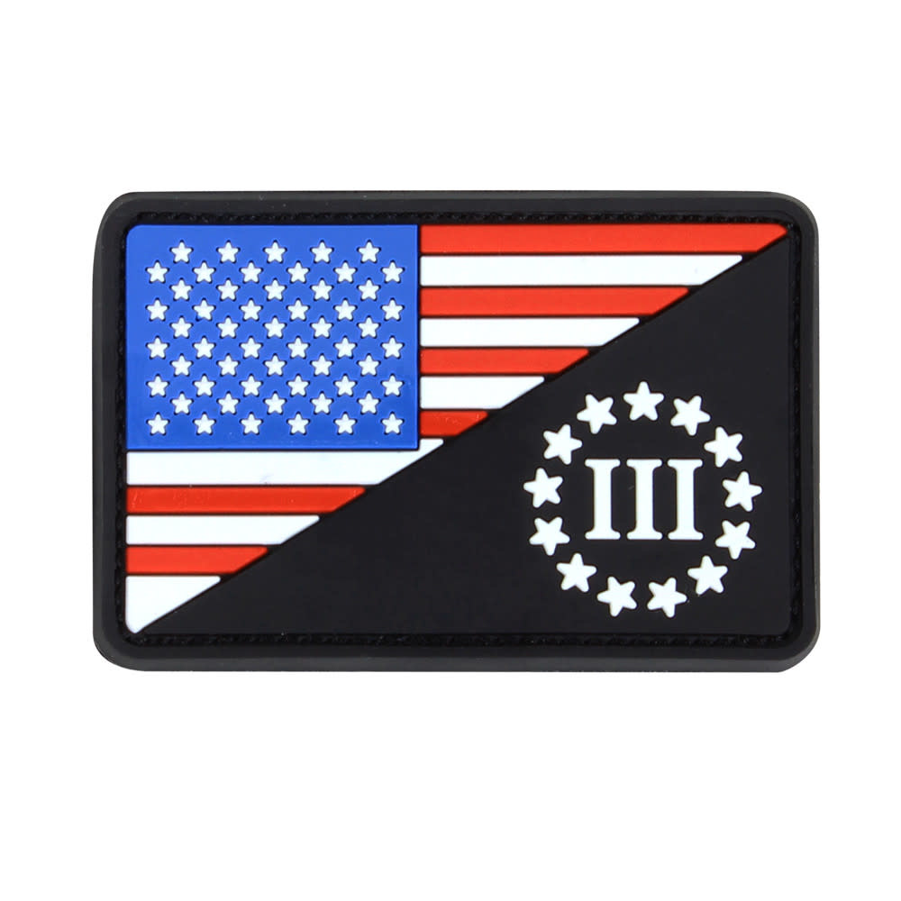 Condor US Flag 3 Percenter Morale Patch