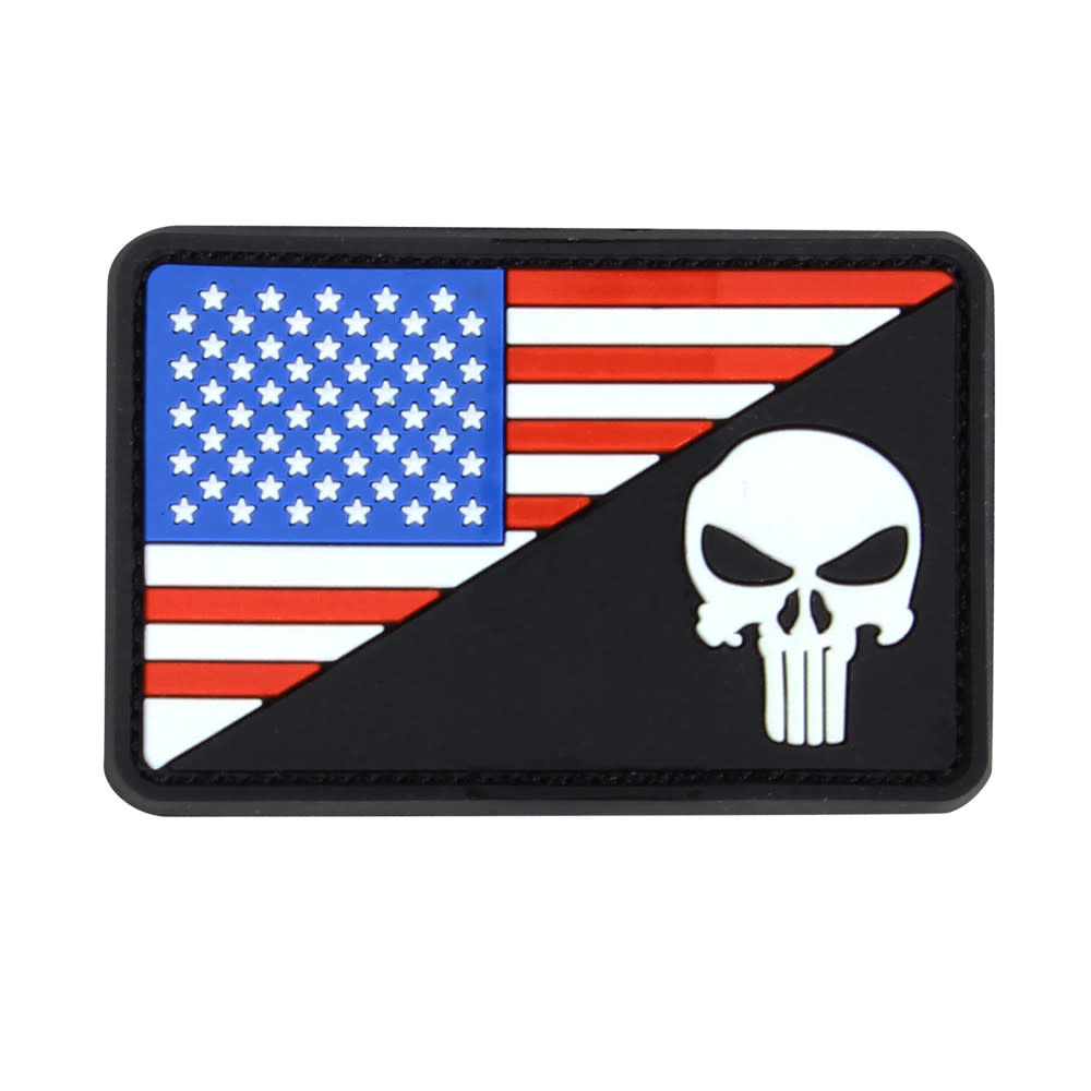 Condor US Flag Punisher Morale Patch
