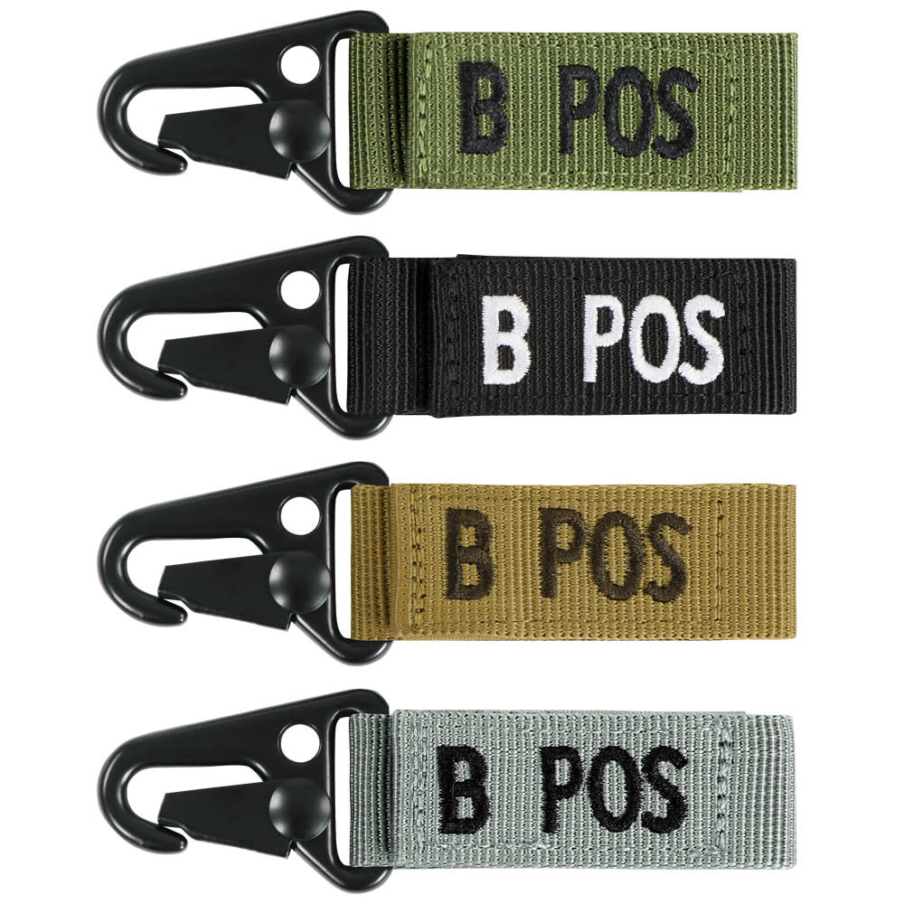 Condor B Positive Blood Type Tag