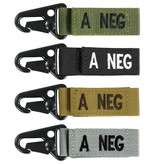 VooDoo Tactical A Negative Blood Type Tag