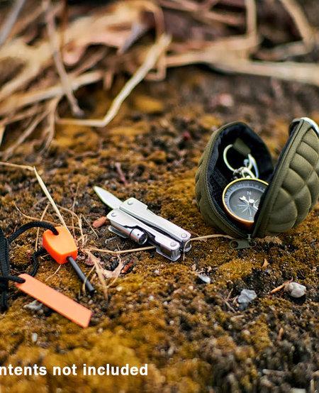 Grenade Keychain Pouch