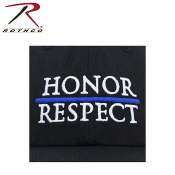 Rothco Thin Blue Line Honor - Respect Mesh Back Cap