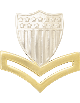 Military Coast Guard Petty Officer Collar Device
