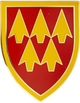 Military 32nd Air and Missile Defense Command Combat Service ID Badge