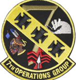 Military 7th Operation Group Patch