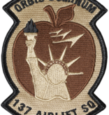 Military 137th Airlift Desert Patch