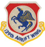 Military 139th Airlift Wing Patch