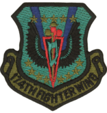 Military 174th Fighter Wing Patch