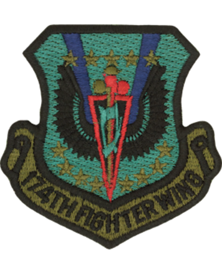 174th Fighter Wing Patch