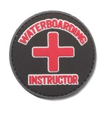 5ive Star Gear Waterboarding Instructor PVC Patch