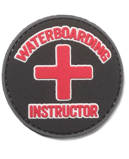 Waterboarding Instructor PVC Patch