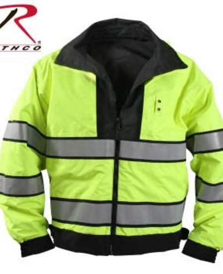 Reversible Hi-visibility Uniform Jacket