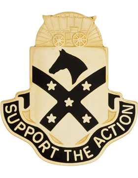 No Shine Insignia 15th Sustainment Brigade Unit Crest (Support the Action)