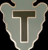 No Shine Insignia 36th Infantry Division Unit Crest (No Motto)