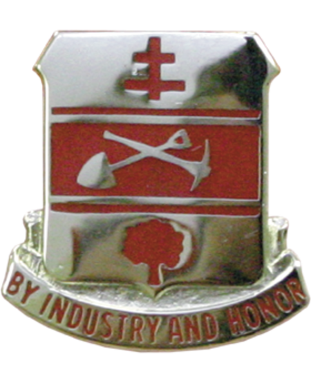 317th Engineer Batallion Unit Crest (By Industry and Honor)
