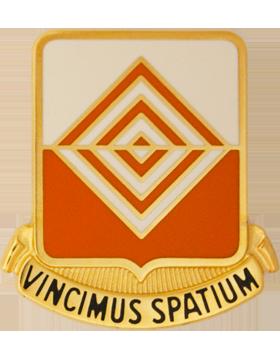 Military 57th Signal Battalion Unit Crest (Vincimus Spatium)