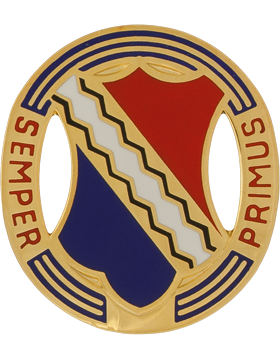 Military 1st Infantry Unit Crest (Semper Primus)