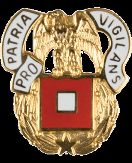 Regimental Crest Signal (Pro Patria Vigilans)