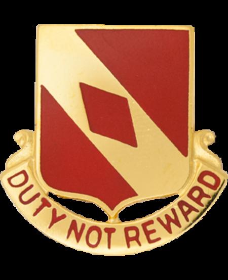20th Field Artillery Unit Crest (Duty Not Reward)