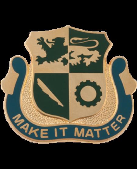 1st Armored Division Special Troops Battalion Unit Crest (Make It Matter)